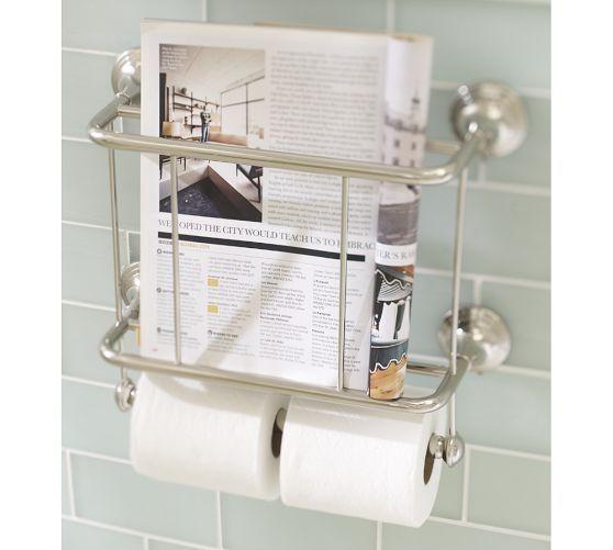 Mercer Magazine Rack Amp Paper Holder Magazine Rack