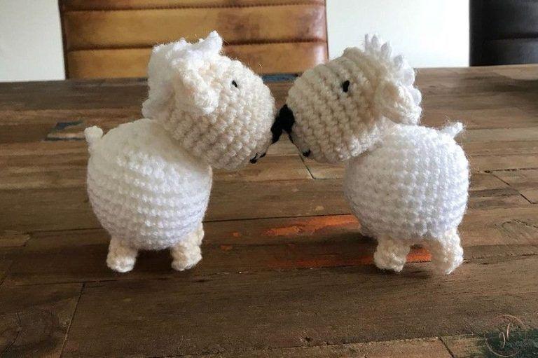Haal de lente in huis: schaapjes haken! | Gewoon iets met Loes