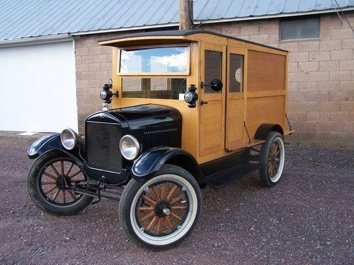 1926 Ford Model T Panel Delivery Truck Model T Classic Pickup Trucks Ford Models