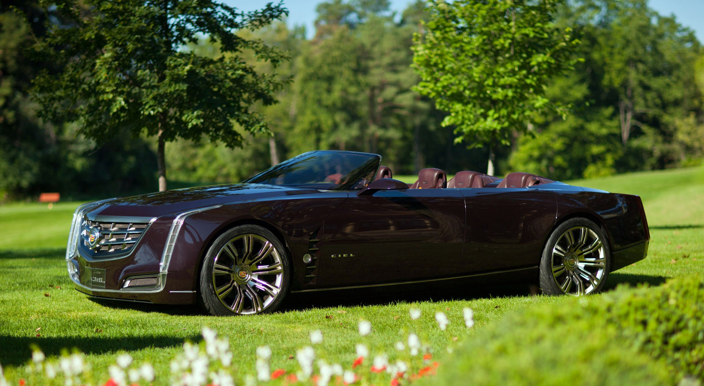 HD Background Cadillac Ciel Supercar Motorcycles