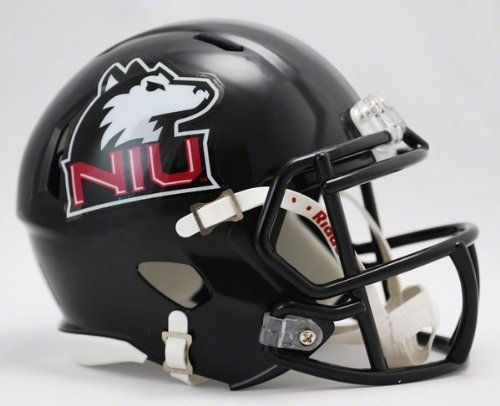 NCAA Northern Illinois Huskies Speed Mini Helmet by Riddell. None. Imported. Ideal for autographs. The Speed Mini Helmet is a half-scale replica of one of the most popular new helmet introductions in Riddell's history. The most popular collectible in history is now available in the New Speed Helmet design.
