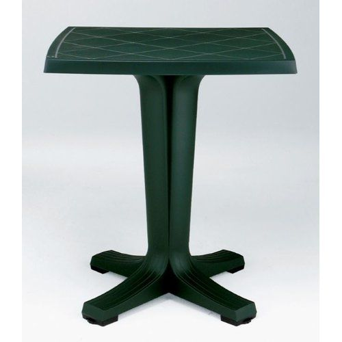 Glascock Plastic Balcony Table Lynton Garden Colour Dark Green