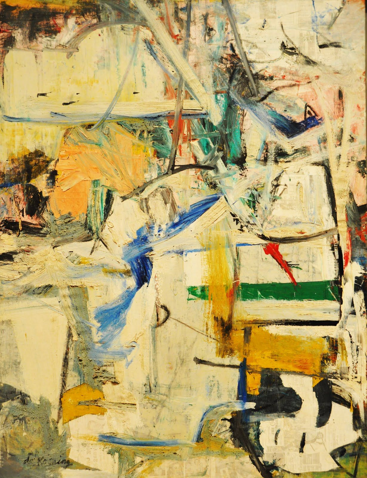 Resultado de imagen para willem de kooning paintings