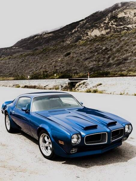 My favorite blue. My first car looked like this one. Until I drove into a guardrail on 294 heading home from Great America.