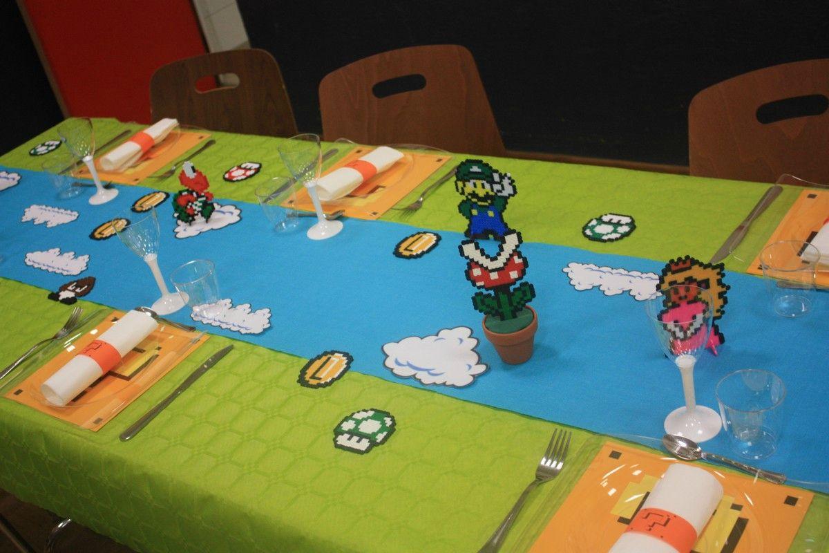 Déco Mario émil Et Une Idées Kids Parties Anniversaire Super