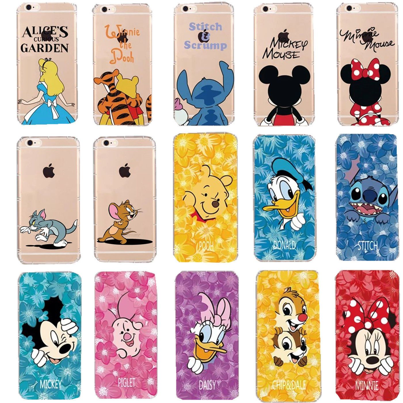 largest disney silicone case iphone