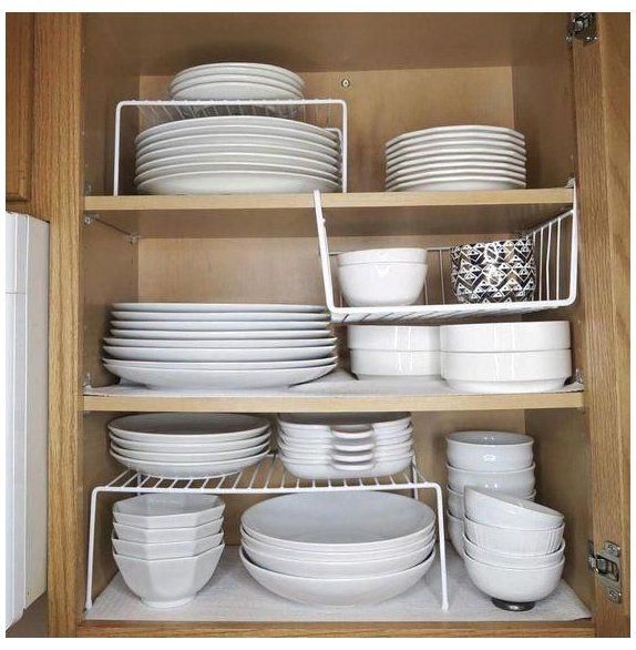 50+ Clever Space-saving Solutions and Storage Ideas #kitchenorganizationdiy home storage, space-saving so #kitchenorganization