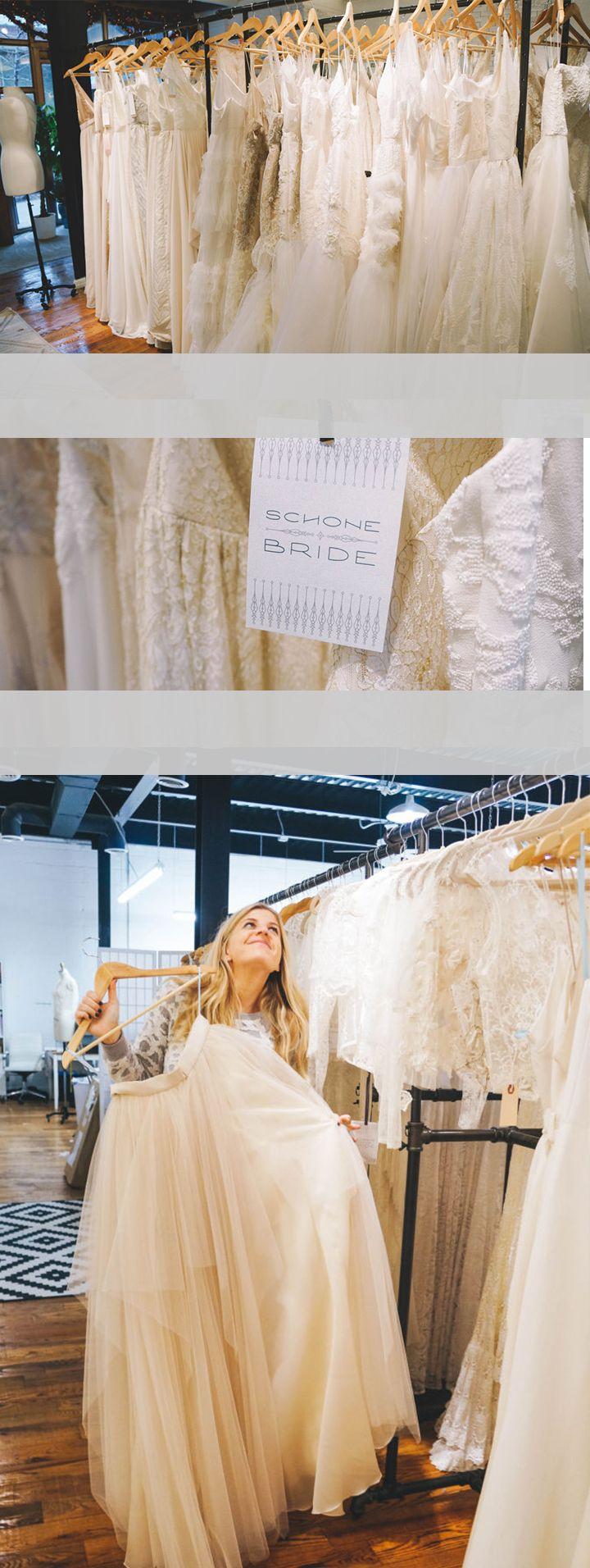 Wedding dresses brooklyn  Schone Bride Studio Tour  Classic weddings Boho and Wedding dress