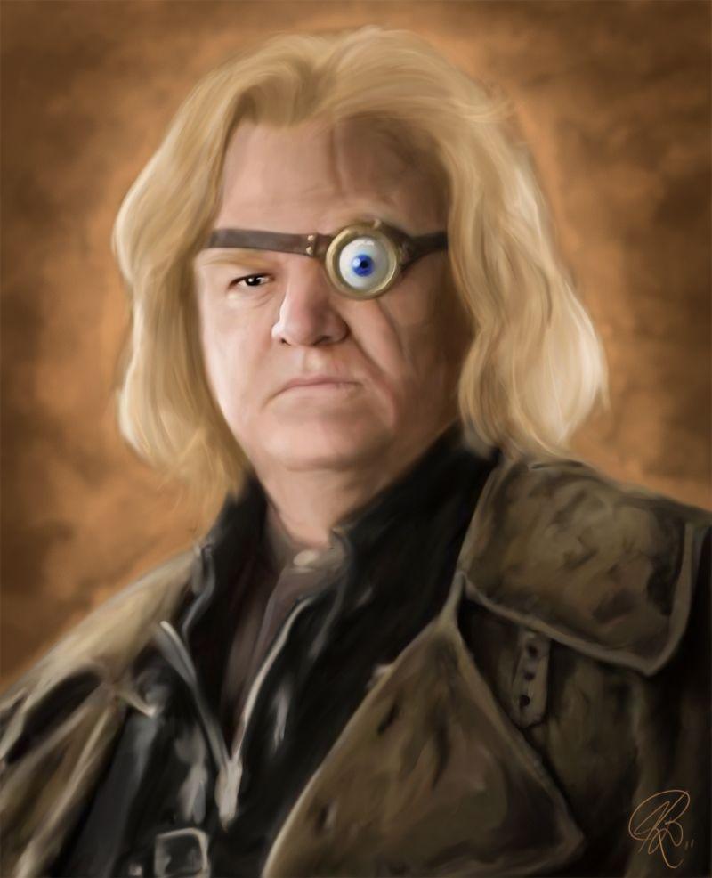 Harry Potter Professor Painting Mad Eye Moody By Keifus Harry Potter 2001 Harry Potter Characters Harry Potter Professors
