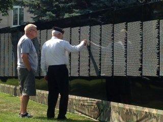 Moving Vietnam Memorial Wall Stops In Rock Rapids Vietnam Memorial Wall Vietnam Memorial Rock Rapids