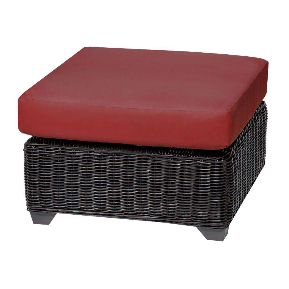 Tkc venice outdoor ottoman patio furniture terracotta best