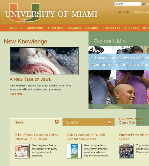 University of Miami 1300 Campo Sano Dr Miami FL 33133 - Colleges & Universities