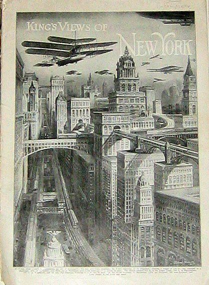 The History Of The Future Of Skyscrapers Thomas Nast 1881 History New York Architecture World Of Tomorrow