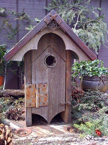 Rustic But Fancy Bird Houses Bird House Bird Houses Diy