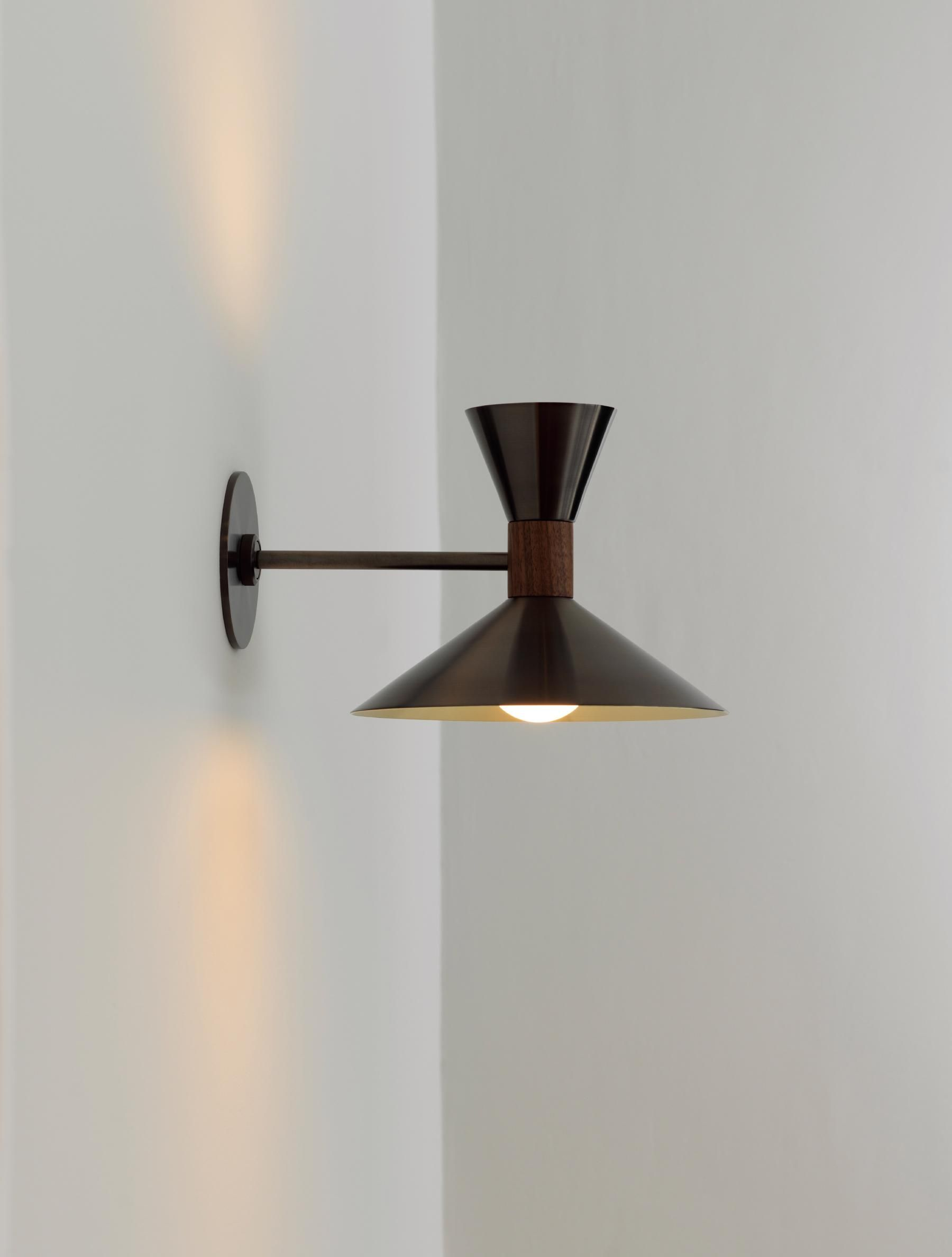 Dual Cone Sconce In 2021 Sconces Light Sconce Lighting