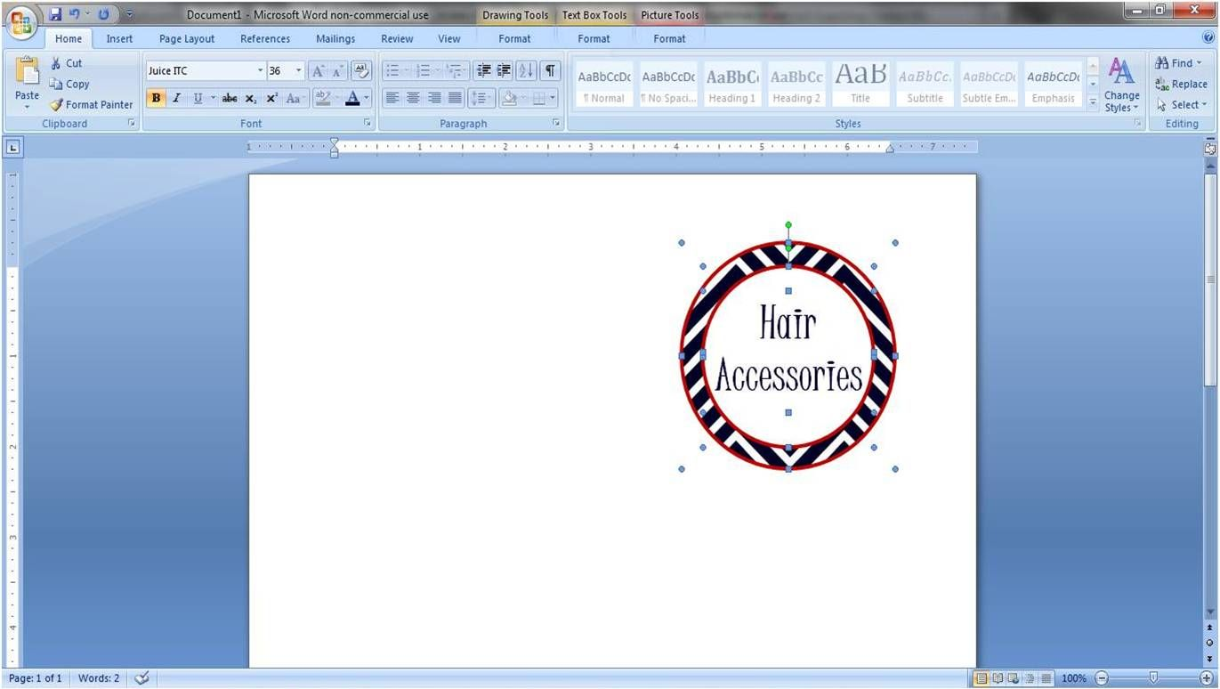It is a photo of Witty How to Make Round Sticker Labels in Word