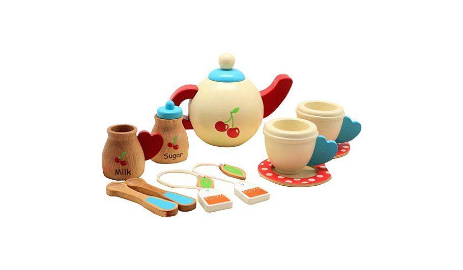 George Home Wooden Afternoon Tea Set Kids George At Asda Kids Tea Set Afternoon Tea Set George Home