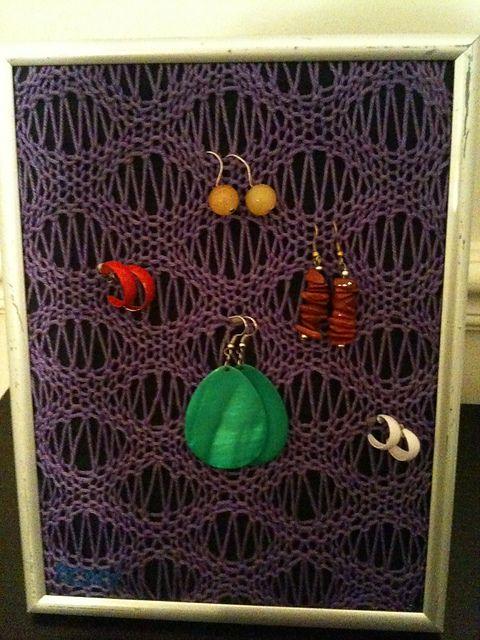 Ravelry: eeevaaas Knit Jewelry Frame