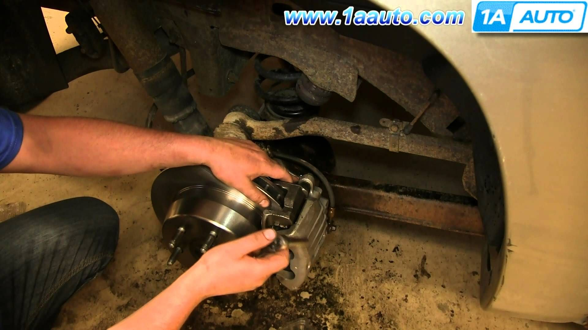 Nice How To Install Replace Rear Brake Caliper   Chevy Suburban