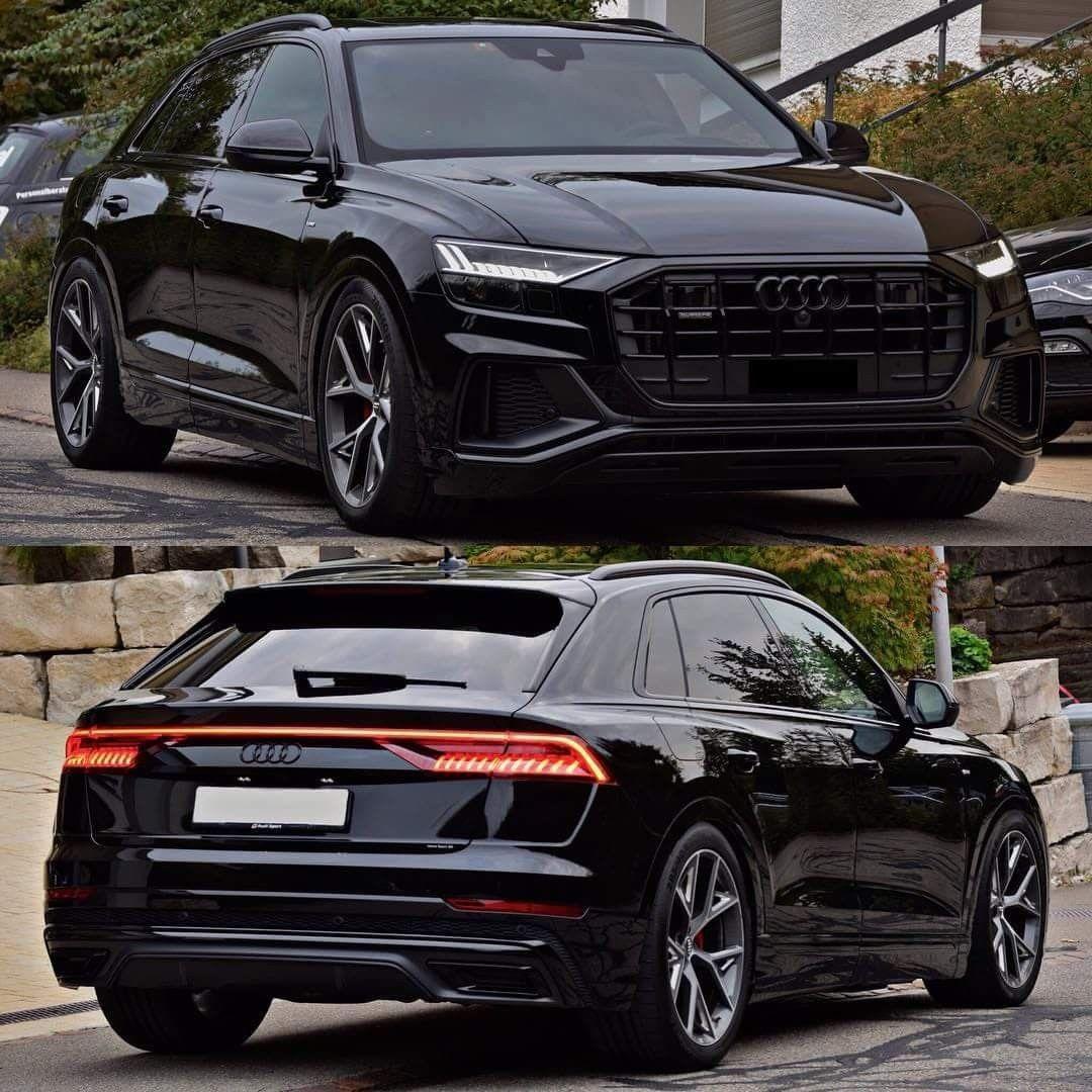 Audi Q8 Black Audi Audi Suv Cars