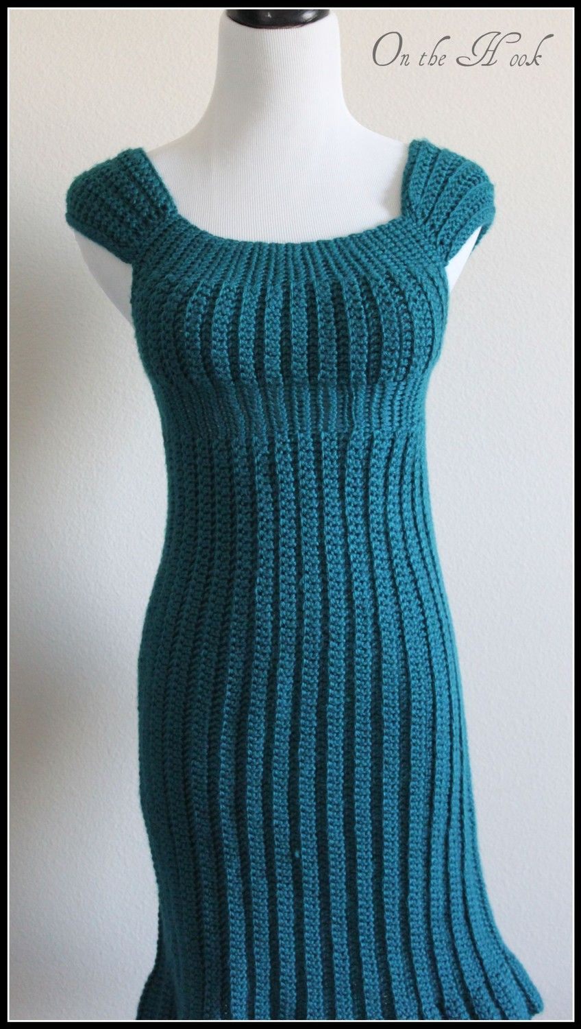 Crochet Sweater Dress Crochet Sweater Dress- Design by Mary Jane ...