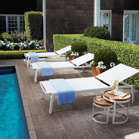 Swell Newport Set Of Two Chaise Lounge Chairs In 2019 Outdoor Pdpeps Interior Chair Design Pdpepsorg