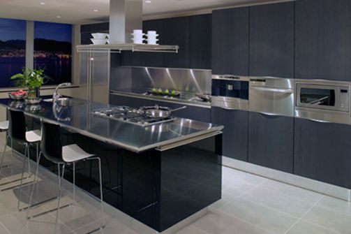 The Benefits of Stainless Steel Kitchen Island - http://www.psychedelickitchen.org/the-benefits-of-stainless-steel-kitchen-island/