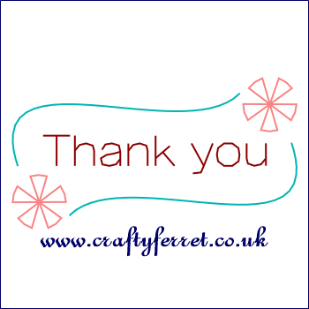 Free Stitching On Card Thank You Embroidery Pattern From Www