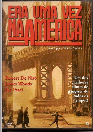 Robert De Niro Joe Pesci Era Uma Vez Na America Dvd Once Upon A
