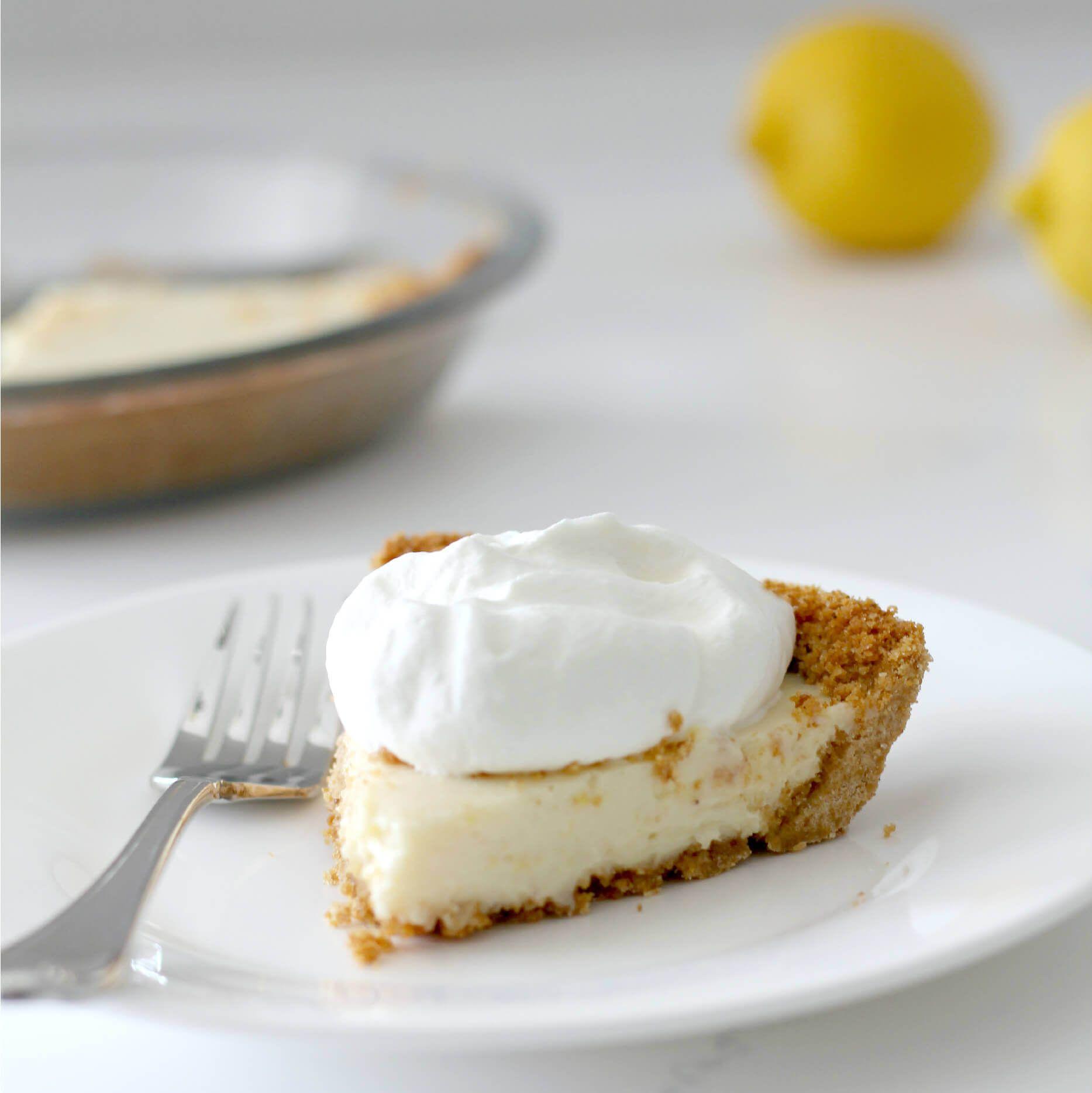 Old fashioned lemon icebox pie 72