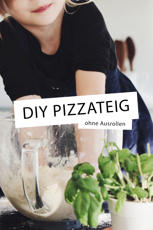 Fluffiger Pizzateig ohne Ausrollen via alovelyjourney.de