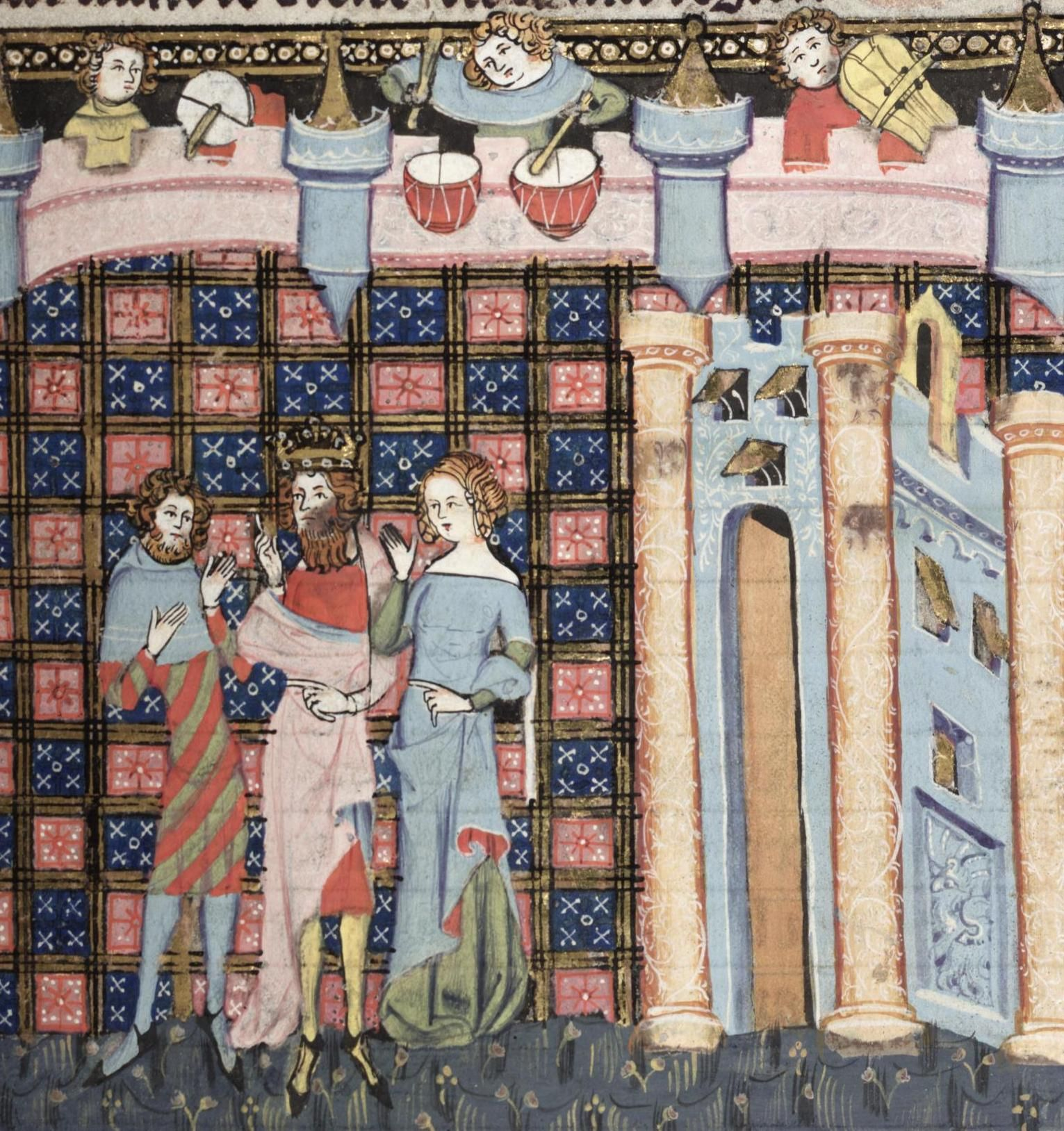 Bodleian Library MS. Bodl. 264, The Romance of Alexander in French verse, 1338-44; 172r