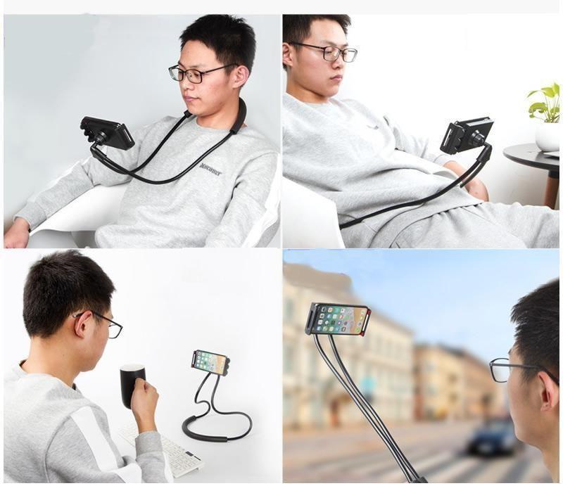 Bracketphone flexibile neck smartphone holder