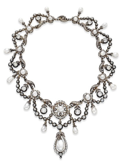 Necklace 1860s Christie's