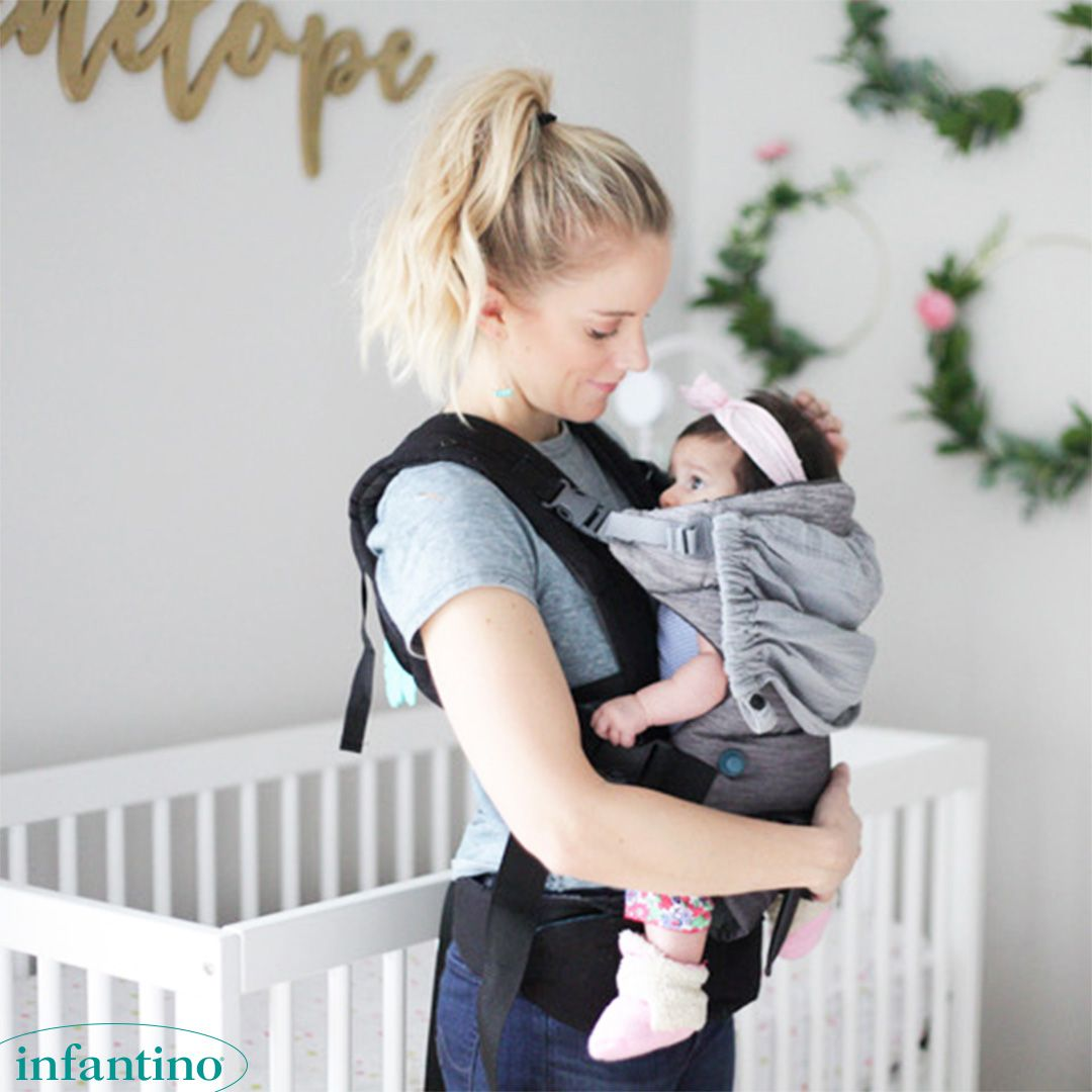 07718c4a257 The ultimate ergonomic carrier for busy moms. The Go Forward Advanced Ergonomic  Carrier is perfect for running errands and enjoying long walks.