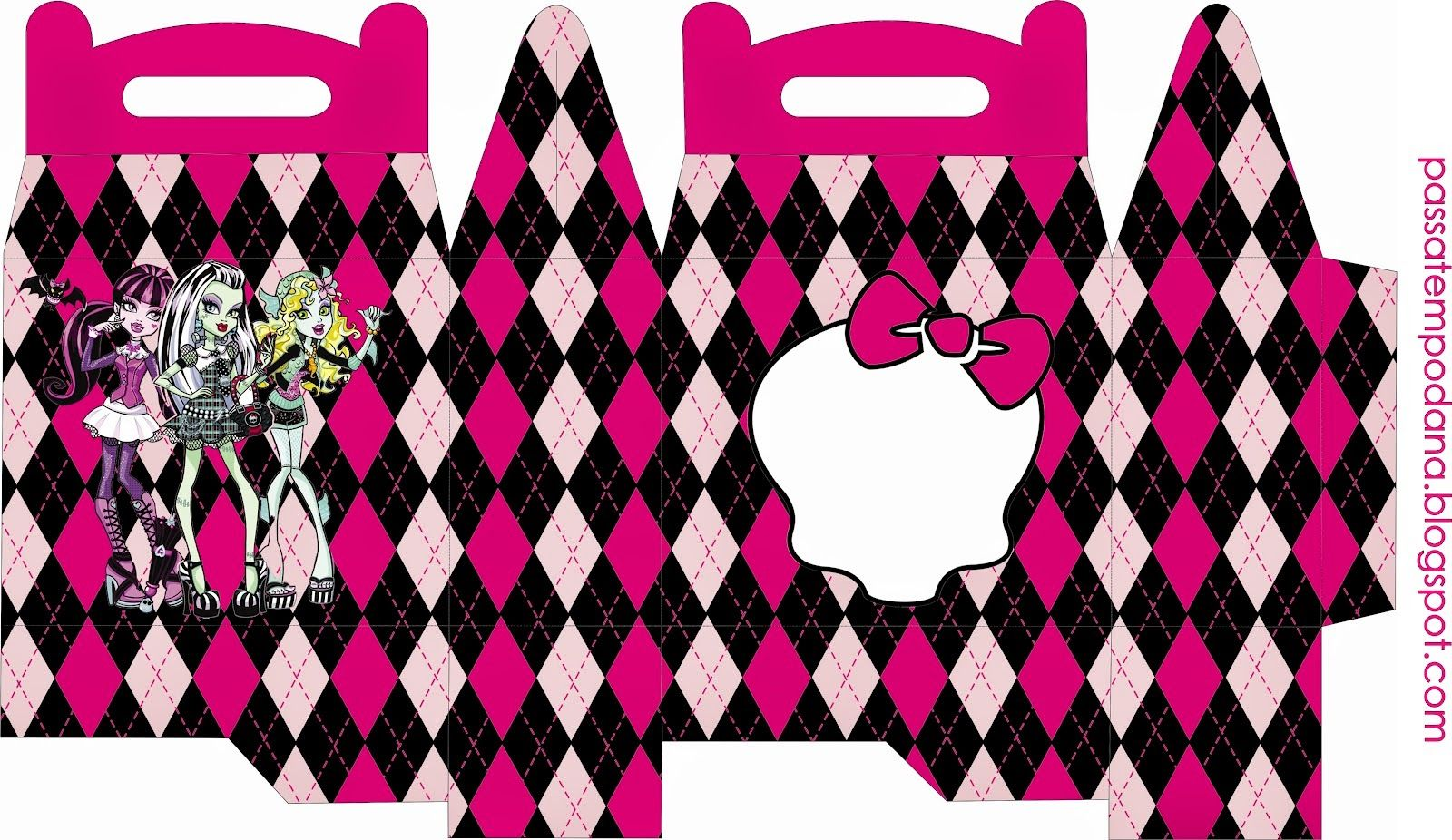 Monster High: Free Printable Lunch Box. | Girly Party | Pinterest ...