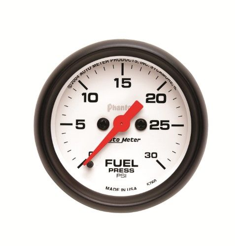 Autometer 5760 Phantom Electric Fuel Pressure Gauge