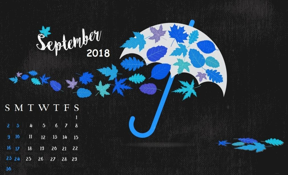 Best September 2018 Calendar Wallpaper With Images Calendar Wallpaper Desktop Wallpapers Backgrounds