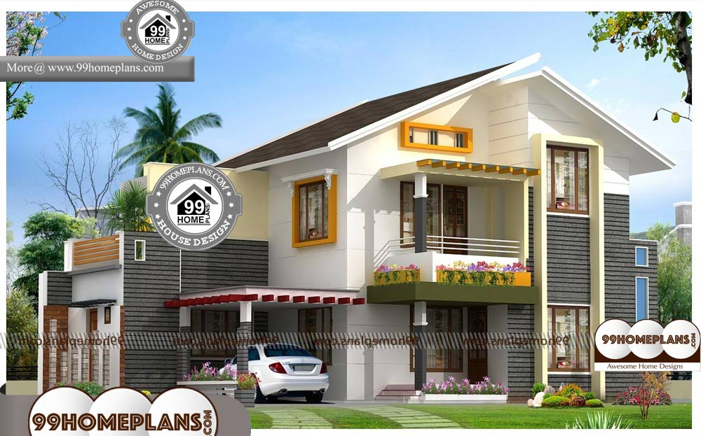 Indian House Plans With Photos 750 Double Story Contemporary Homes Indian House Plans House Plans With Photos Indian Homes