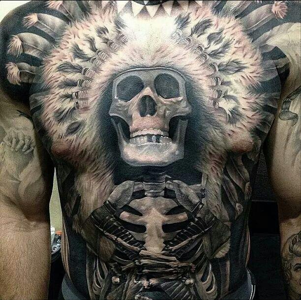 Full Chest Tattoos Skull: Beautiful Art Of ~INK~