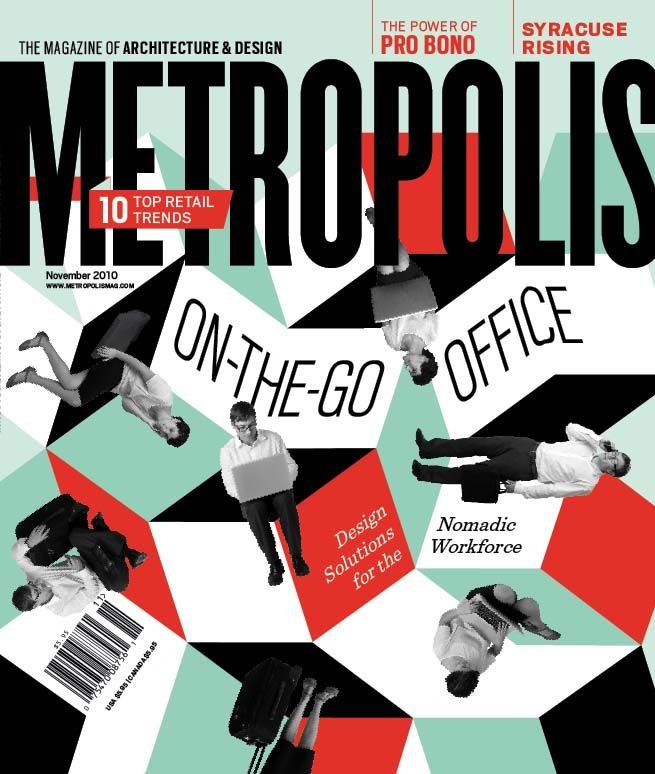 November 2010 issue | Covers | Metropolis magazine, Cover