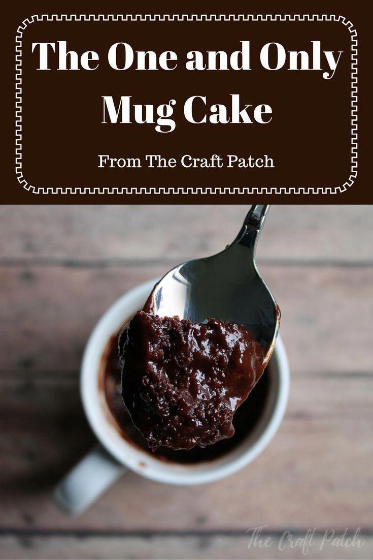 Chocolate Mug Cake | Recipe in 2020 | Mug recipes, Easy ...