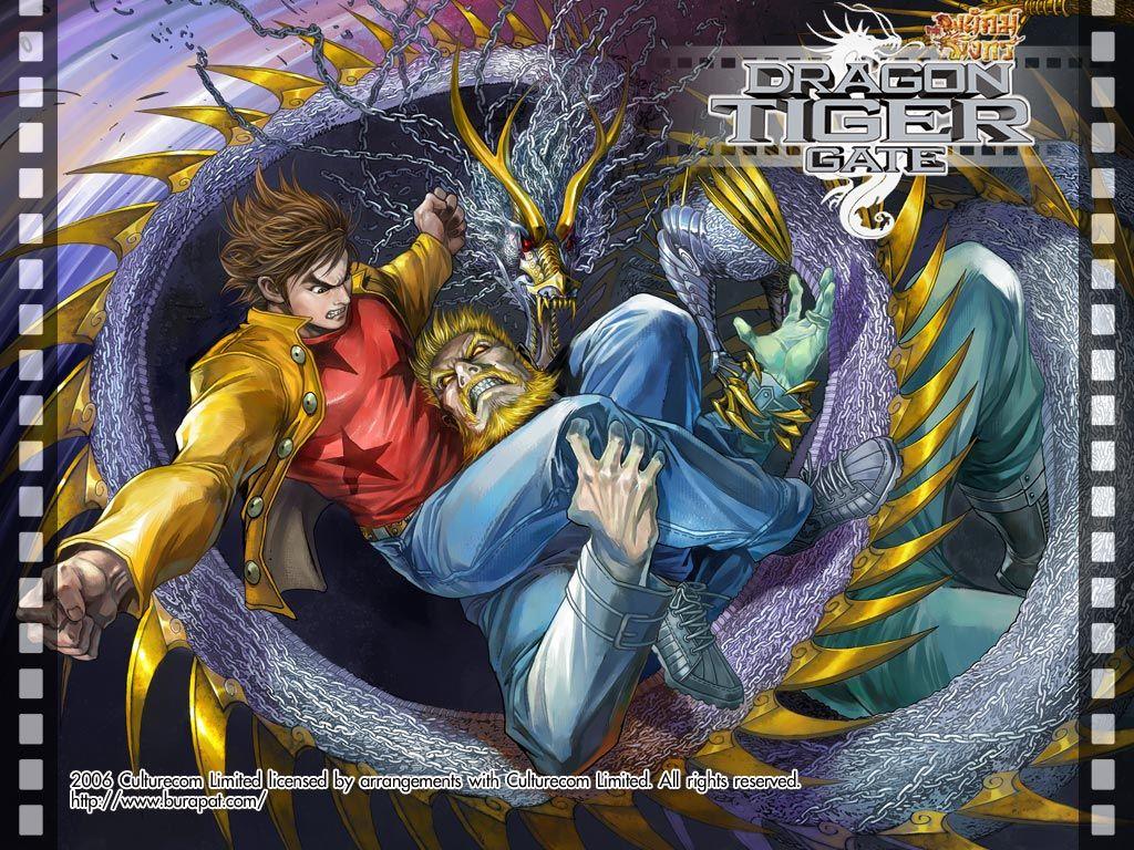 Jejak Wira Versi Baru Dragon Tiger Gate Anime & Kartun