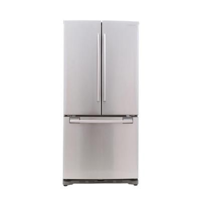 Beau Samsung 33 In. W 17.5 Cu. Ft. French Door Refrigerator In Stainless Steel, Counter  Depth RF18HFENBSR   The Home Depot