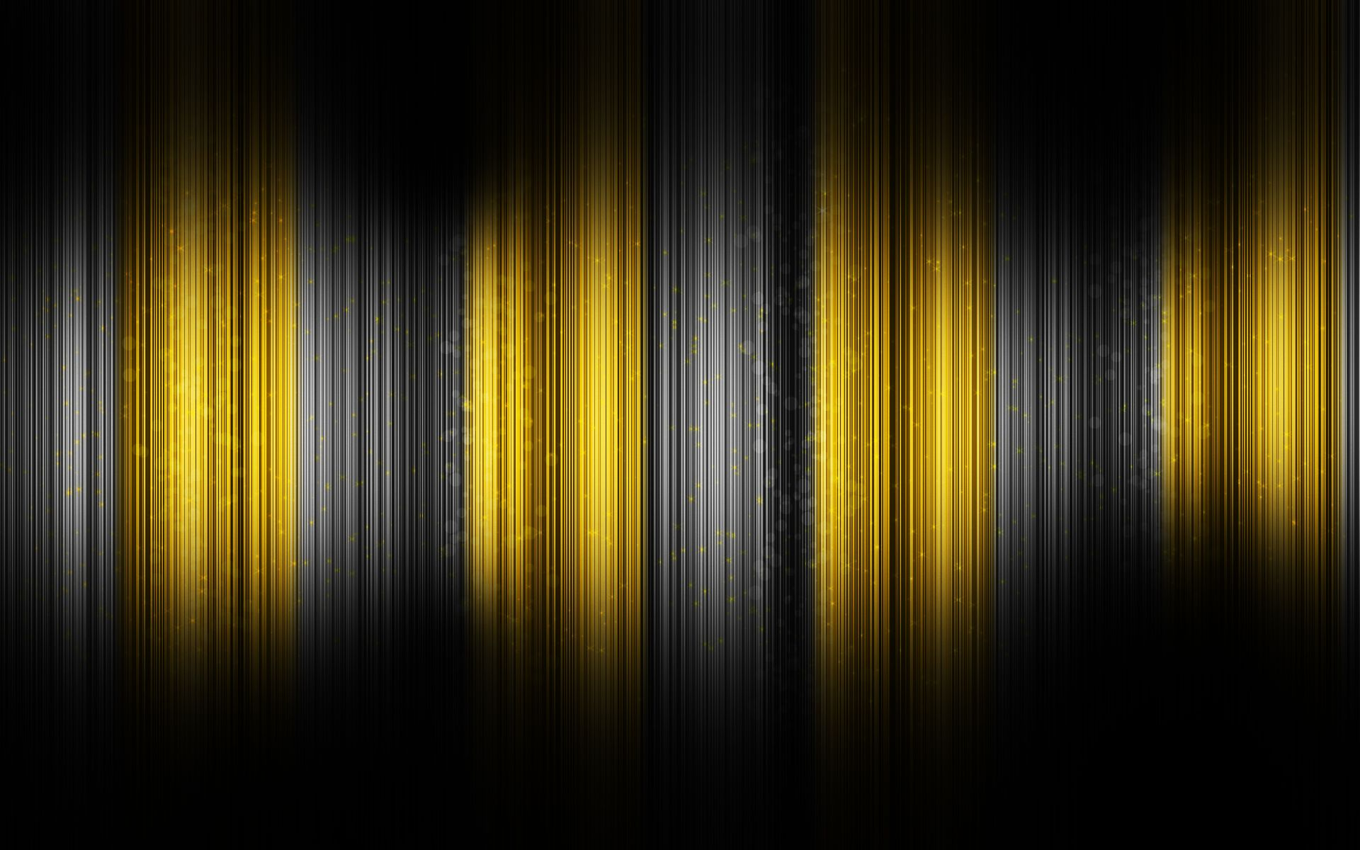 Black And Yellow Abstract Widescreen Desktop Wallpaper Black