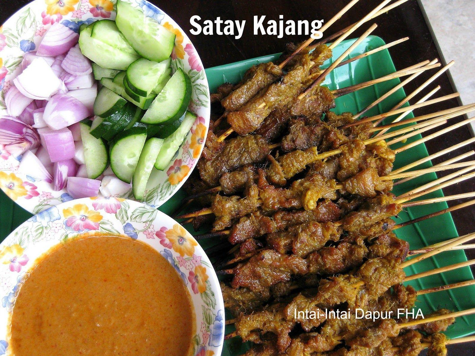 Satay Kajang Makanan Resep