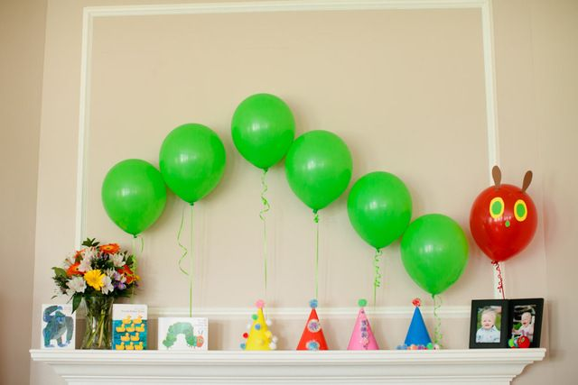 The Very Hungry Caterpillar Birthday Party Ideas In 2019