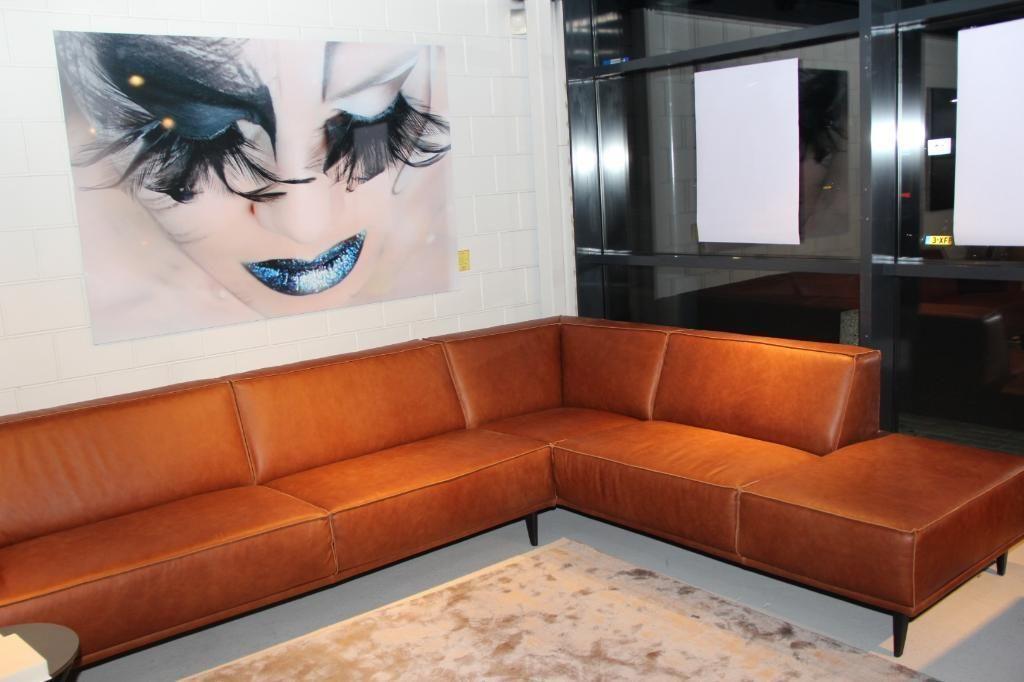 Design Hoekbank Van Leer.Design Bank Nomad Cartel Living Leer Stof Ook Als Hoekbank