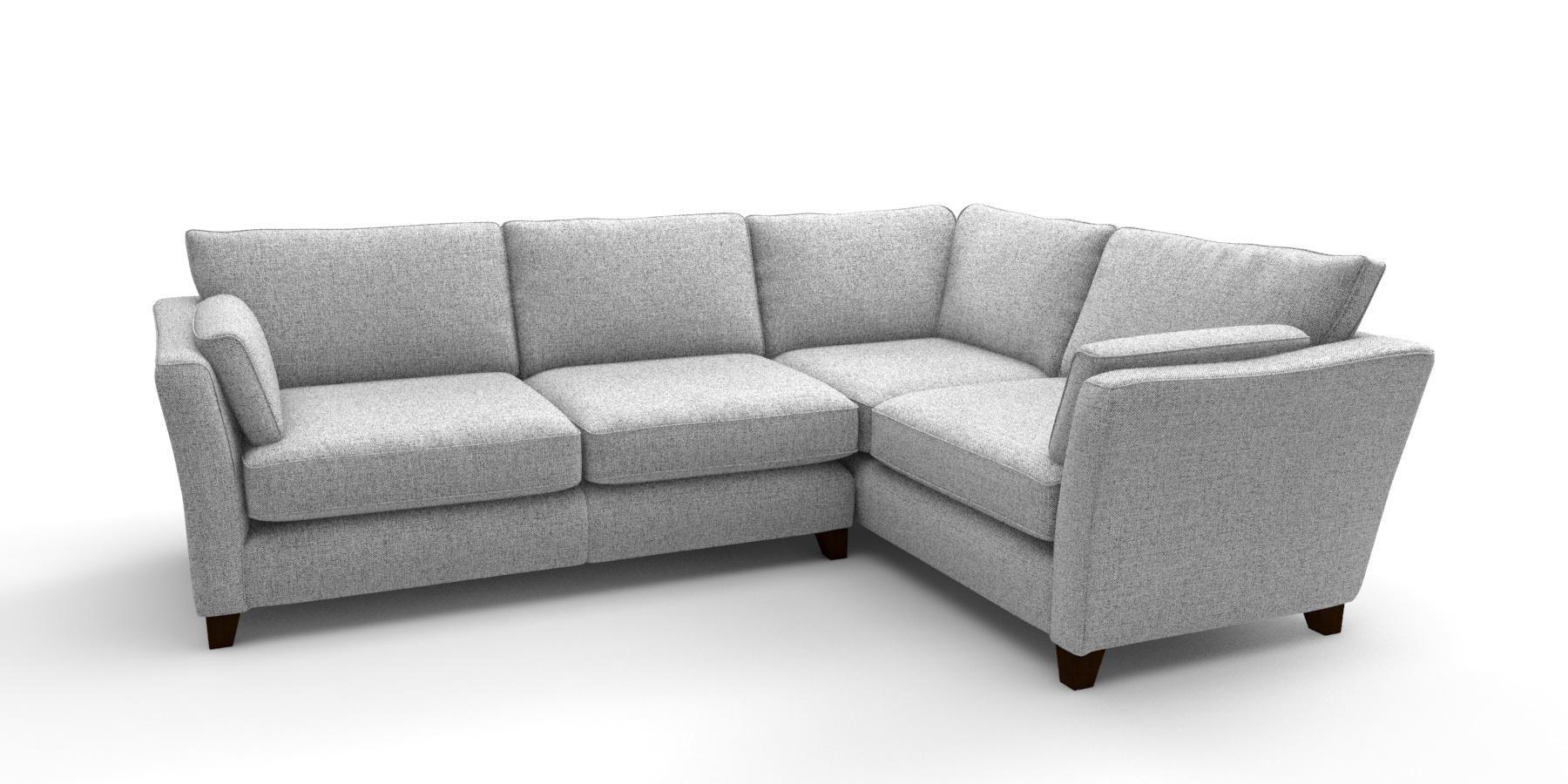 Buy Farrell Corner sofa - right hand (4 seats) Tweedy Blend ...