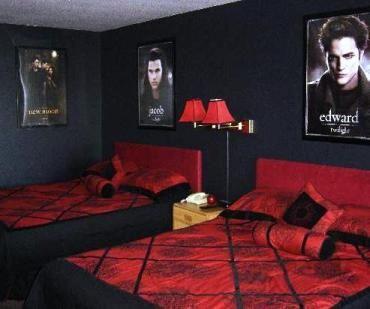 Twilight Bedroom Twilight Themed Hotel Rooms Dream Rooms